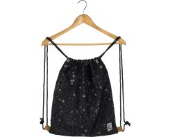 The Pack Society Gymsack Black Spatters Allover